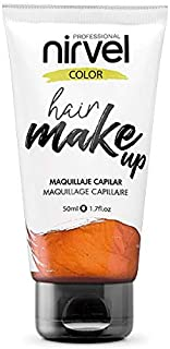 Nirvel Hair Make Up Maquillaje capilar 50 mL, color Copper