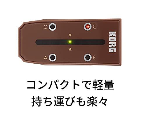 KORGクリップ型ウクレレチューナーHeadtuneHT-U1ヘッドチューンウクレレのヘッド型チューニング一目でわかるLowGにも対応35時間連続稼働