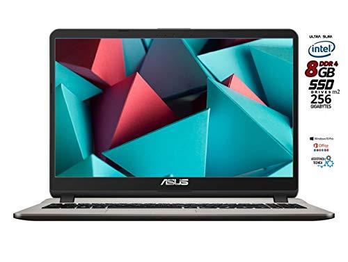 "Asus VivoBook Notebook X540N, Display 15.6 "" HD LED, Intel Dual Core 64 bit fino a 2.4Ghz 4GB RAM, Hdd 500GB, Windows 10 PRO [layout italiano] 3 porte usb Hdmi Dvd cd r wifi bt pronto all'uso"
