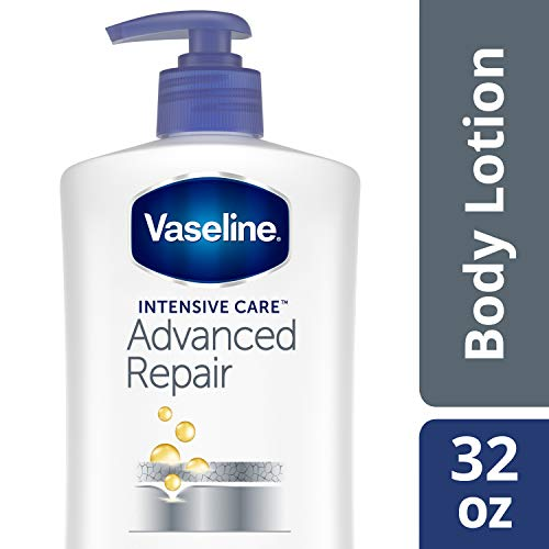 Vaseline Intensive Care Lotion, Advanced Repair Unscented, 32 Ounce
