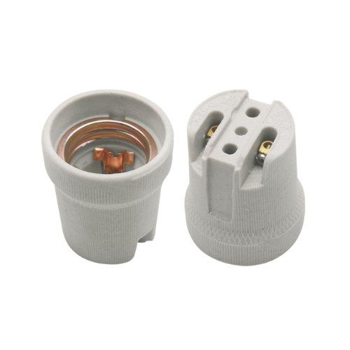 E27 Keramik Fassung 230V ohne Bügel HLDR-E27