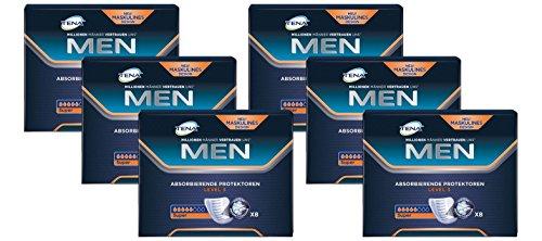 TENA MEN Level 3 - Inkontinenzeinlagen für Männer mit mittlerer Blasenschwäche / Inkontinenz, Vorteilspack (48 Hygiene-Einlagen)