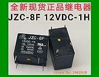 1PC jzc-8F 12vDC-1H 4 10A