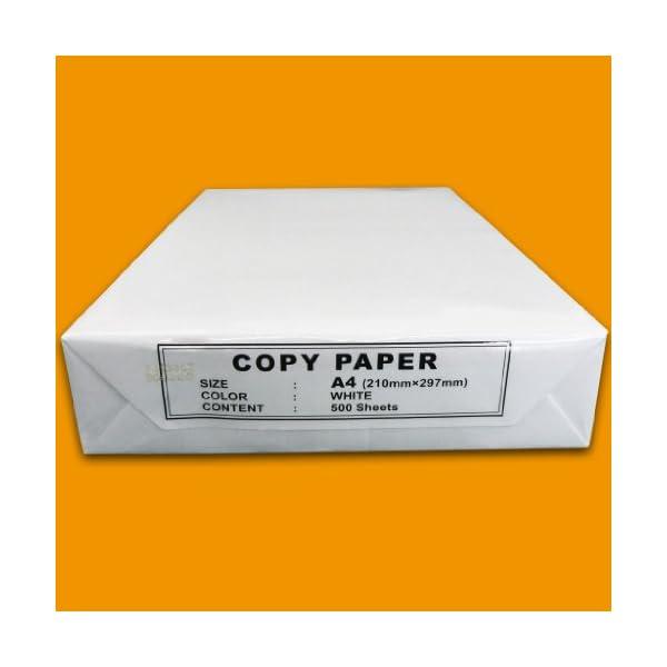 NoName – Papel normal (A4, 80 g, 500 hojas), color blanco