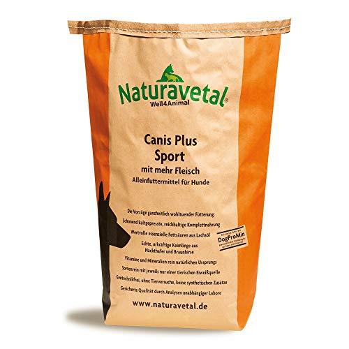 Naturavetal Canis Plus Sport 1kg Hundefutter Trockenfutter