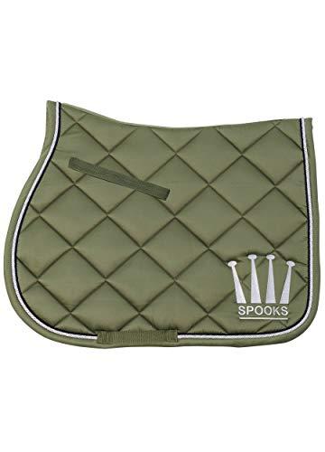 Saddle Pad Crown Shiny - DE (Farbe: olive; Größe: jumping)