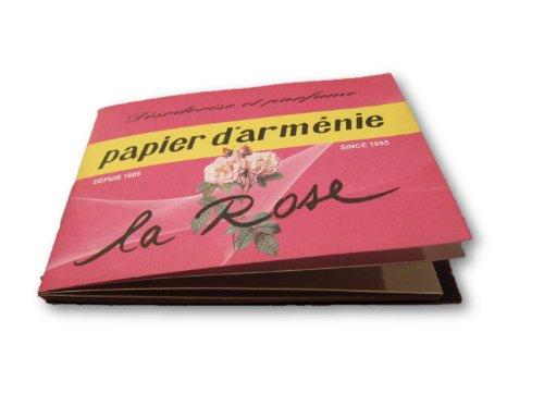 Papier d'Arménie LA ROSE Duftpapier