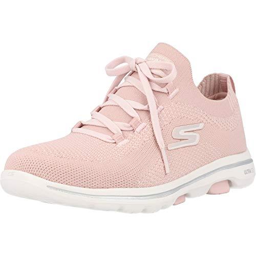 Skechers Go Walk 5 Uprise, Zapatillas Mujer, Pnk, 36.5 EU
