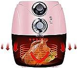 KISAD Freidora de Aire Cocina 2.5L 1200 w Free Air Free Air Fryer Apagado Automático Canasta No Stick Fácil de Limpiar para Familia y Fiestas (Color : B)