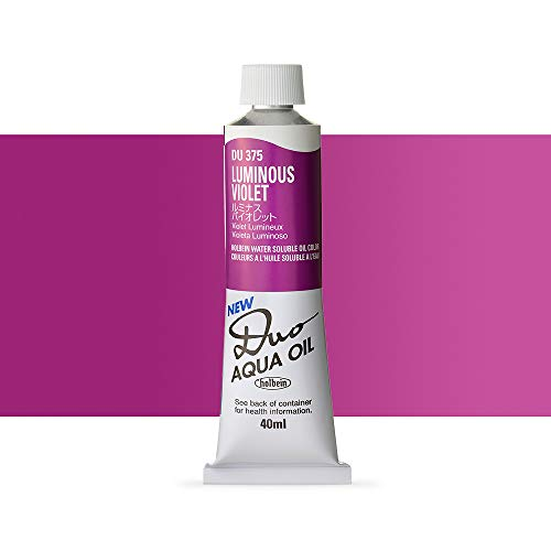 Holbein Water-Soluble Oil Color Luminous Violet 40 ml tube