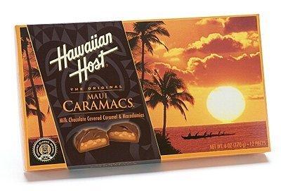 Hawaïaanse gastheer Maui Caramacs 6 / 6 oz. Dozen door Hawaiian Host