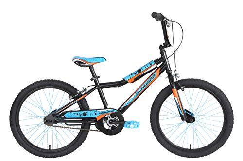 Schwinn Boy Throttle Kids Bike - Black, Blue & Orange, 20 inch