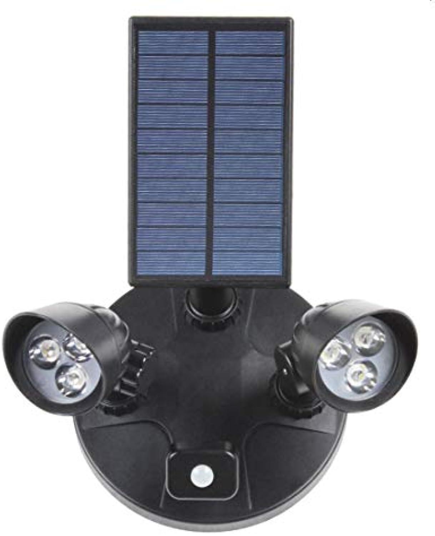 LRJ Solarleuchten im Freien, Solarleuchten mit Bewegungsmelder wasserdichte Solar-Gartenleuchten-3 Intelligente Modi-Geeignet für Korridorgnge im Garten