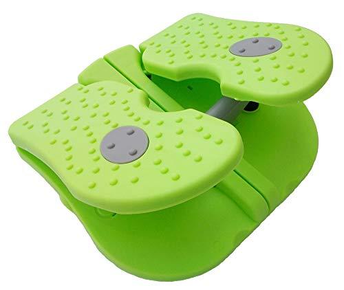 タイショー産業 足踏み運動器 グリーン 使用時23.5x21.2x11.5cm 楽々ステッパー AP-802803