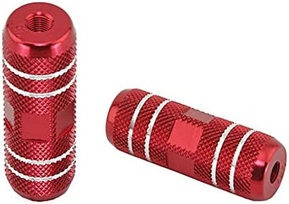 Lowrider Red Alloy Bike Pegs 006a 24 Max 86% OFF L=3