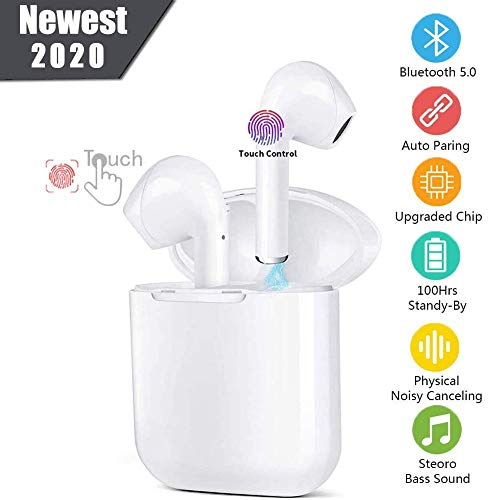 Auriculares Inalámbricos Bluetooth 5.0 Auriculares,Bluetooth