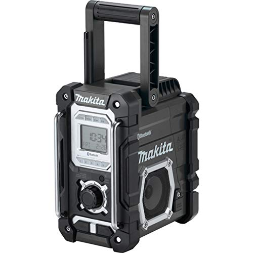 Makita DMR108B 10.8V to 18V Li-Ion Cxt LXT Job Site Radio with Bluetooth (Black Editiion) - Battery And Charger Not Included