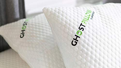 GhostBed Shredded Memory Foam Pillow with Gel Memory Foam 2 Pack King product image