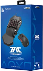 Officially Licensed keypad & mouse controller brings PC-style control to PS4 LED-backlit mechanical keypad and gaming-grade mouse Use iOS or Android device to adjust settings & profiles wirelessly using the HORI Device Manager App Special features su...