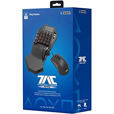 HORI PlayStation 4 TAC Pro Type M2 Programmable KeyPad and Mouse Controller for FPS Games Officially Licensed by Sony…