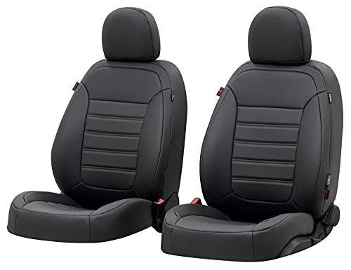 WALSER Sitzbezug Robusto, Schonbezug kompatibel mit Mercedes C-Klasse 07/2013-Heute, 2 Einzelsitzbezüge für Normalsitze