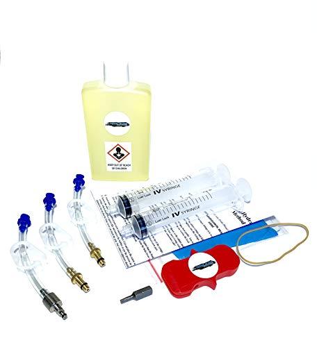 TBS SRAM Kit de purga de frenos hidráulicos con aceite DOT 5.1...
