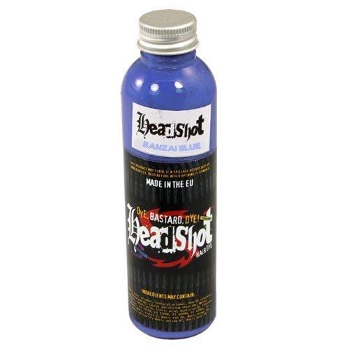 Headshot Haarfarbe Banzai Blue 150 ml (hellblau)