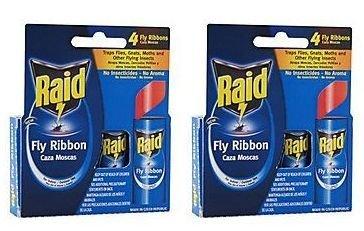 Raid FR3-RAID 4 Count Fly Catcher Ribbon (2-Pack)