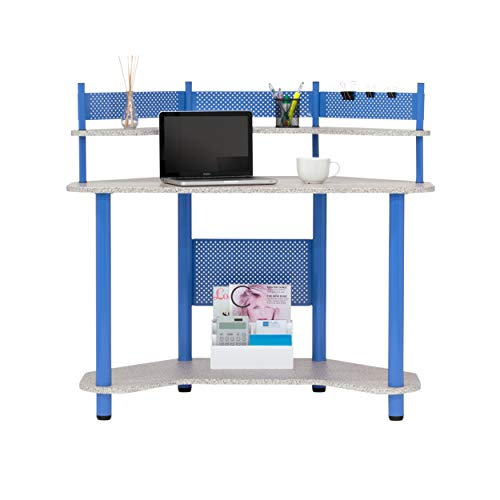 Calico Designs 55120 Study Corner Desk, Blue