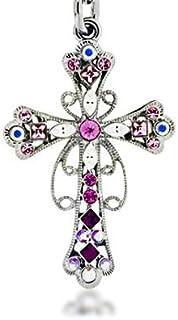 Lilly Rocket Rhinestone Derby Western Cowboy Horsehead Rhinestone Bling Key chain with Swarovski Crystals
