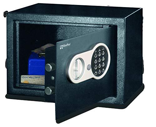 Rieffel HGS-16E - Caja Fuerte (Freestanding Safe, Black, Electronic, 16 L, Metal, 1 Shelves)