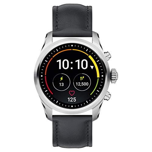 El nuevo smartwatch Montblanc Summit 2 119440, que combina la Alta Relojería suiza con la tecnología más reciente y con set de aplicaciones avanzadas y exclusivas, tiene la caja de acero de 42 mm de diámetro. Su cristal es de zafiro resistente a los ...