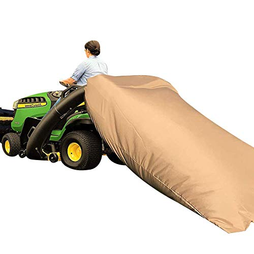 Nixiang Tractor Leaf Bag,Standard Lawn Tractor Leaf Bag,Speedy Zipper Leaf Bag,Faster Lawn Cleanup Bag,92 x 60 x 0.2IN Large Capacity