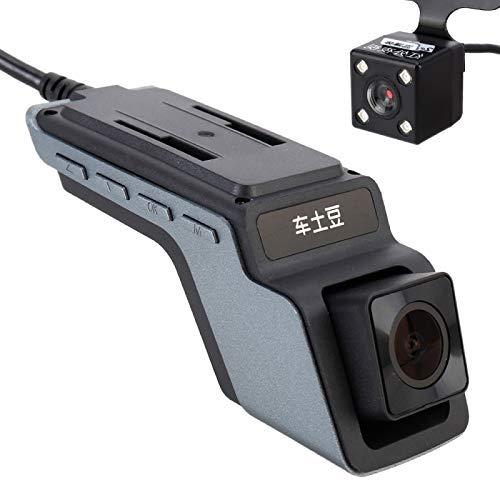 YANTAIAN Cámara de la rociada E5 Mini Coche Oculto del vehículo Monitor de HD 1080P dashcam videocámara del Video de la detección de Movimiento