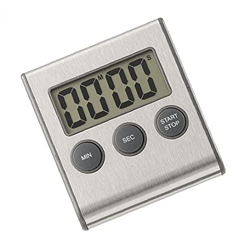 Kök Timer, Digital Kök Timer Magnetisk LCD-skärm Matlagning Nedräkning Stopwatch Clock (inget batteri)