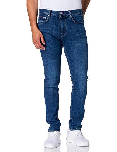 Tommy Hilfiger Core Layton XTR Slim Jean Jeans, Oregon Indaco, W32 / L32 Uomo