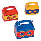 Superhero Treat Boxes - 12 ct by Party Favors