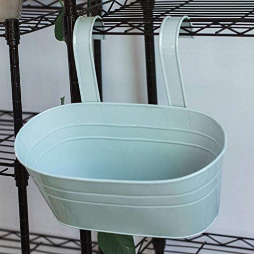 Flowerpot depot basket Metal Oval Flower Basket Double Hook Max 62% OFF Pot
