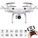 ZHTY Drone RC avec caméra WiFi FPV HD Quadricoptère Pliable Professionnel sans tête et Drone Self-Drone Grand Angle 0.3MP / 2MP / 5K Drones de Retour sans clé