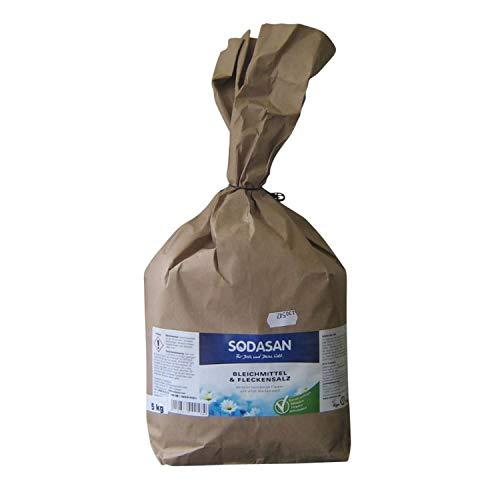 SODASAN Bleichmittel und Fleckensalz im 5 kg Sack in Bio-Qualität, entfernt hartnäckige Flecken