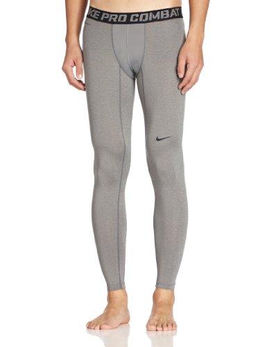 Nike Herren Lange Unterhose Core Compression TGT NFS, Carbon Heather/Black, S