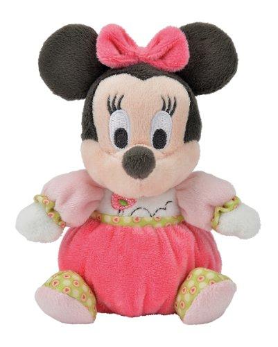 """Disney 5873337 - Peluche di Minnie""""Pretty in Pink"""", 15 cm"""