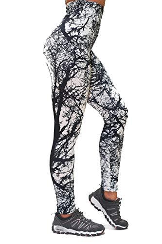 Funky Planet Leggings hoog getailleerde sport Zumba yoga lopen voor meisjes vrouwen elastisch materiaal vele kleuren