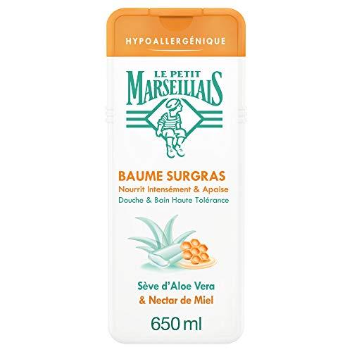 Le Petit Marseillais Badedusche, hypoallergen, Aloe Vera Nectar Honig, 650 ml, 1 Stück