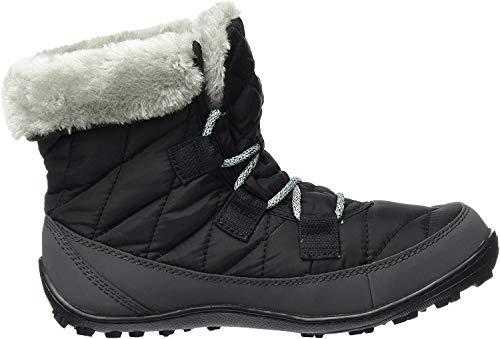 Columbia Minx Shorty Omni-Heat Botas de nieve impermeables para niña, Negro(Black Spray), 34 EU