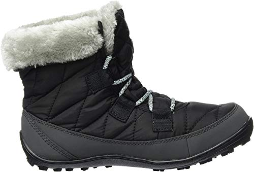 Columbia Damen BugaBoot Plus III Omni-Heat Hohe Winterstiefel, Schwarz, Grau (Black, Spray), 33 EU