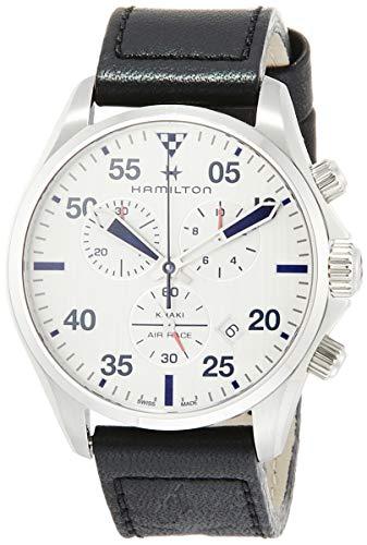 Reloj HAMILTON Orologio Quarzo Unisex Adulto con Cinturino in Pelle 7640167046539