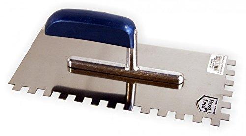 Zahnkelle kleberkelle lisse - 10 x 10 mm kleberkelle zahnspachtel