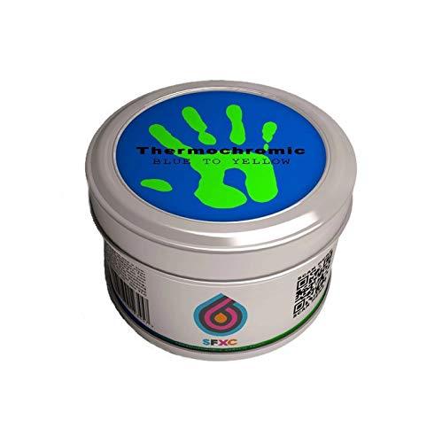 Farbverändernde Farbe–Meeresblau bis Neongrün–Acryl auf Wasserbasis, 250ml, von Thermochrome Paint