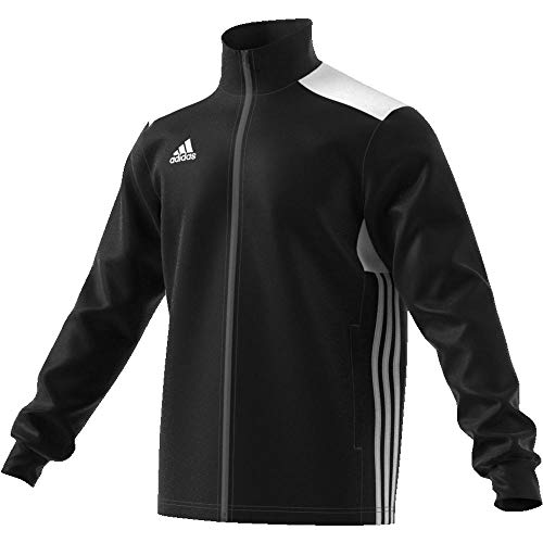 Adidas Men Regista 18 Jacket - Black/White, 2X-Large